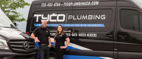 TYCO Plumbing Tyler and Caitlin