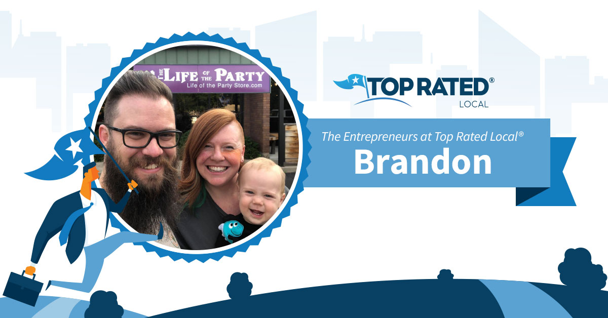 The Entrepreneurs at Top Rated Local®: Brandon