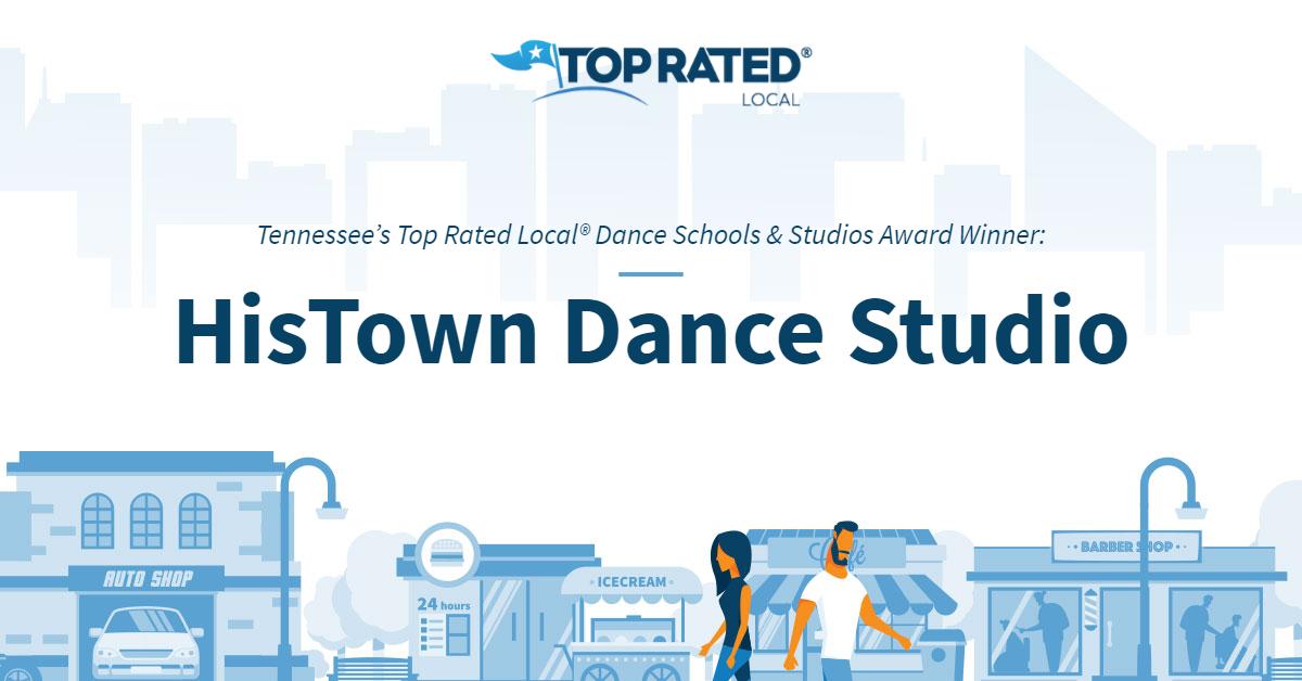 Tennessee's Top Rated Local® Dance Schools & Studios Award Winner: HisTown Dance Studio