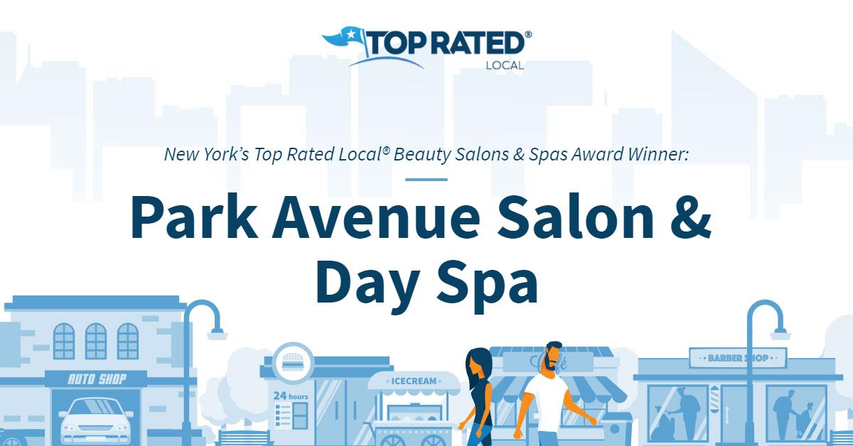 New York's Top Rated Local® Beauty Salons & Spas Award Winner: Park Avenue Salon & Day Spa