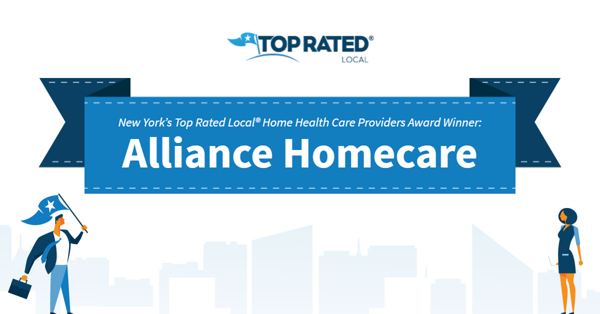 New York's Top Rated Local® Home Health Care Providers Award Winner: Alliance Homecare