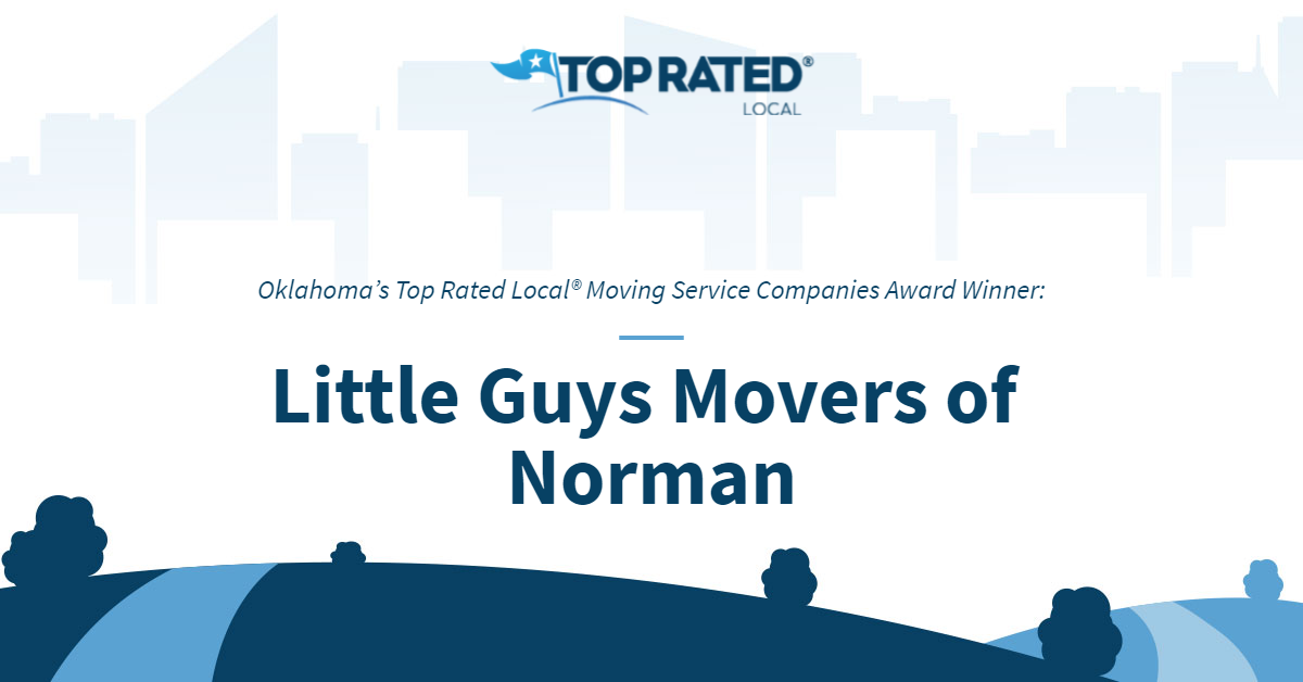 Oklahoma's Top Rated Local® Moving Service Companies Award Winner: Little Guys Movers of Norman