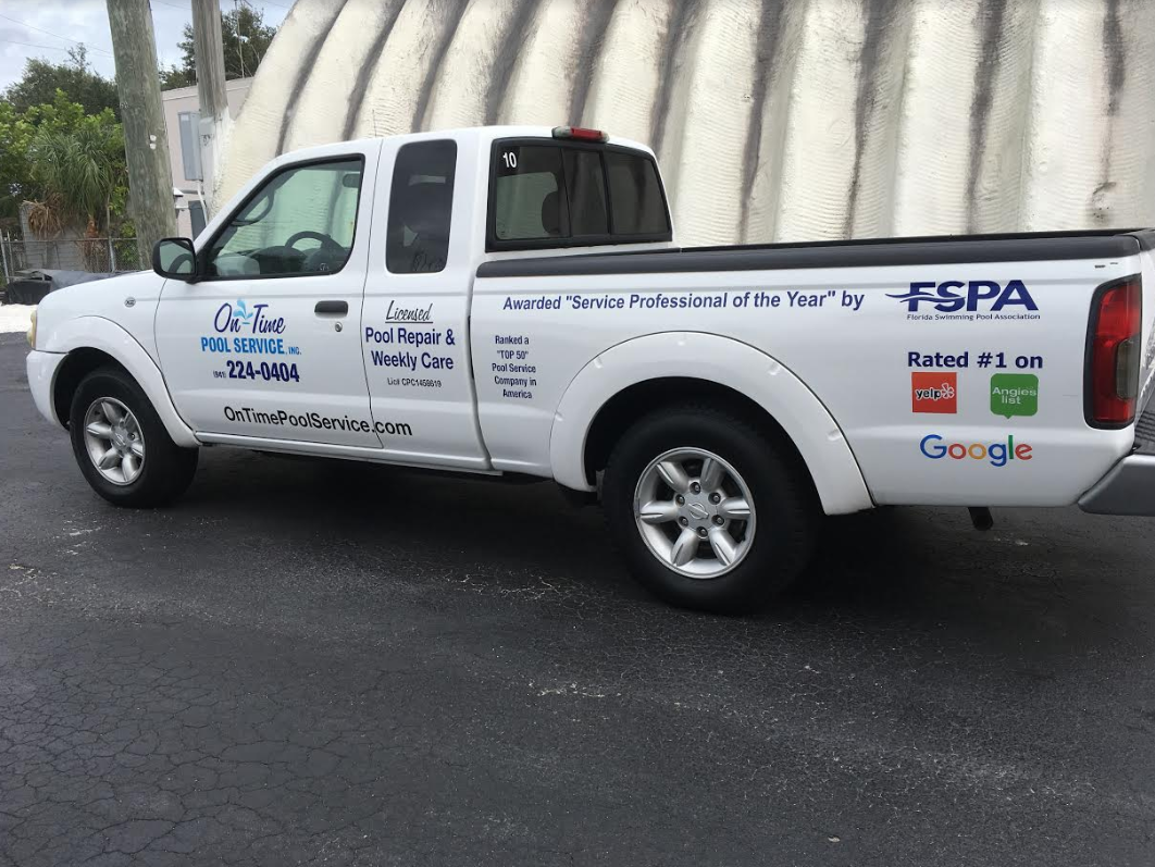 Florida's Top Rated Local® Pool Service and Repair Award Winner: On-Time Pool Service, Inc.