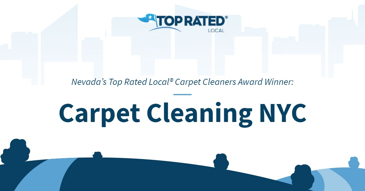Nevada's Top Rated Local® Carpet Cleaners Award Winner: Carpet Cleaning NYC