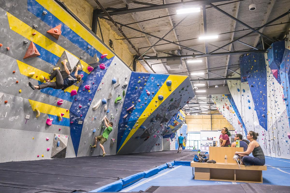 Rhode Island's Top Rated Local® Fitness Centers Award Winner: Central Rock Gym Warwick