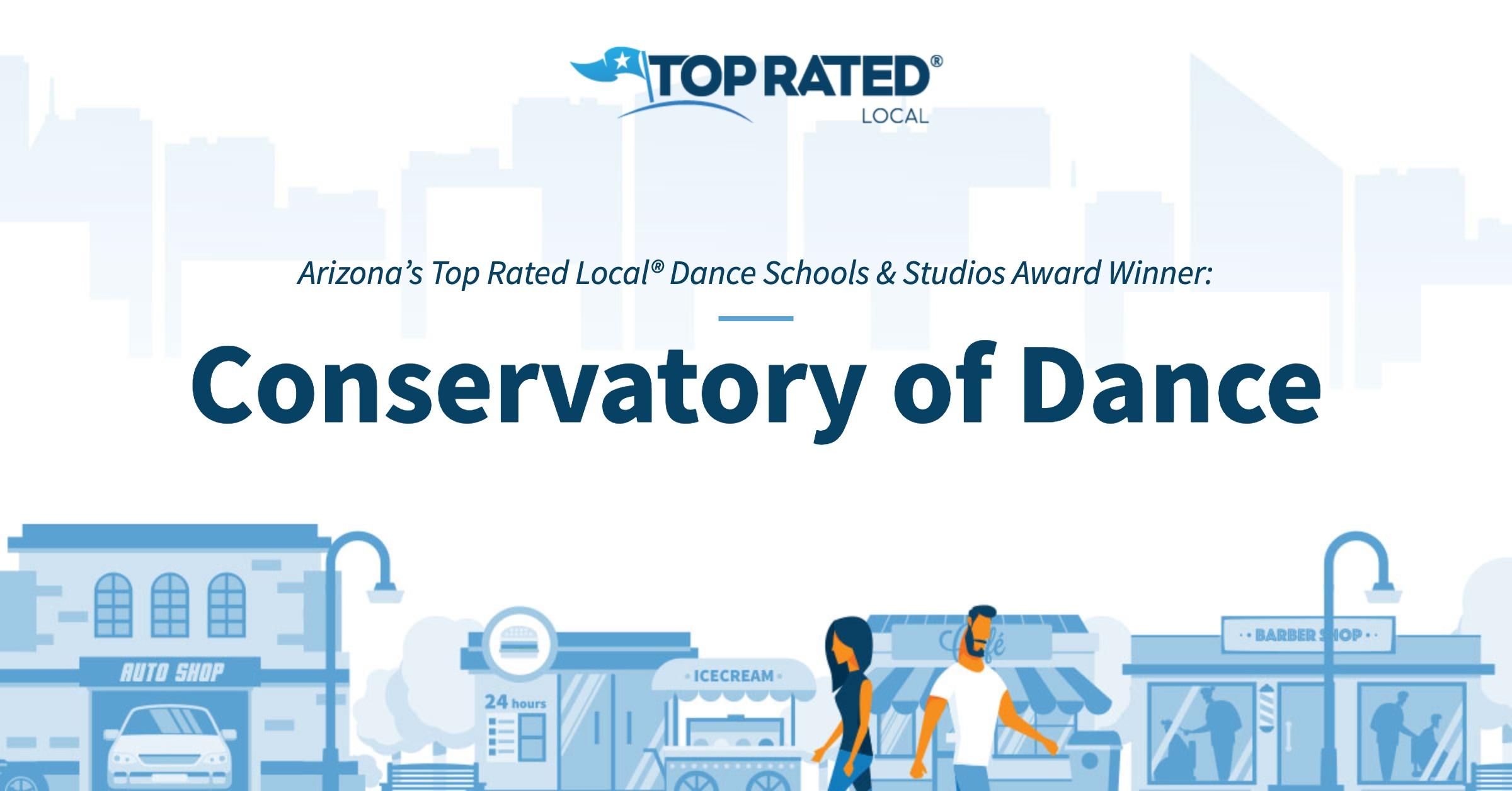 Arizona's Top Rated Local® Dance Schools & Studios Award Winner: Conservatory of Dance