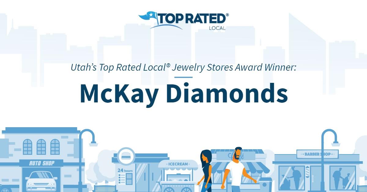 Utah's Top Rated Local® Jewelry Stores Award Winner: McKay Diamonds