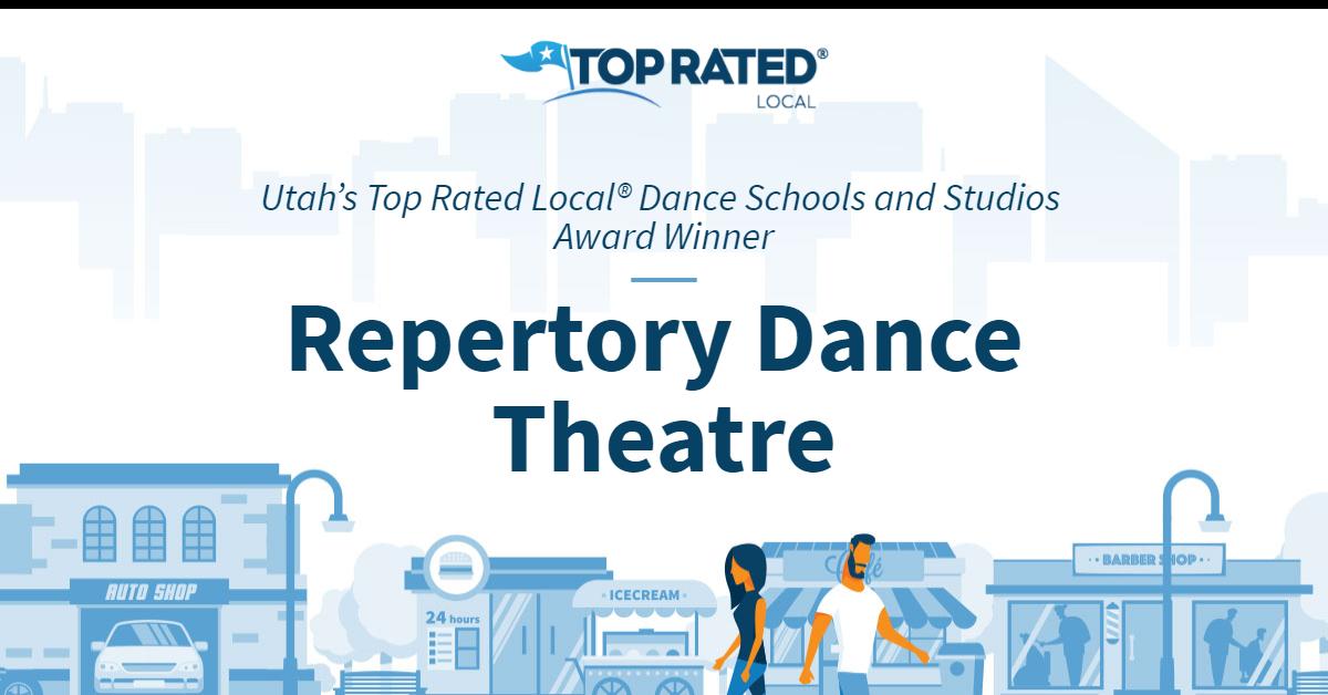 Utah's Top Rated Local® Dance Schools and Studios Award Winner: Repertory Dance Theatre