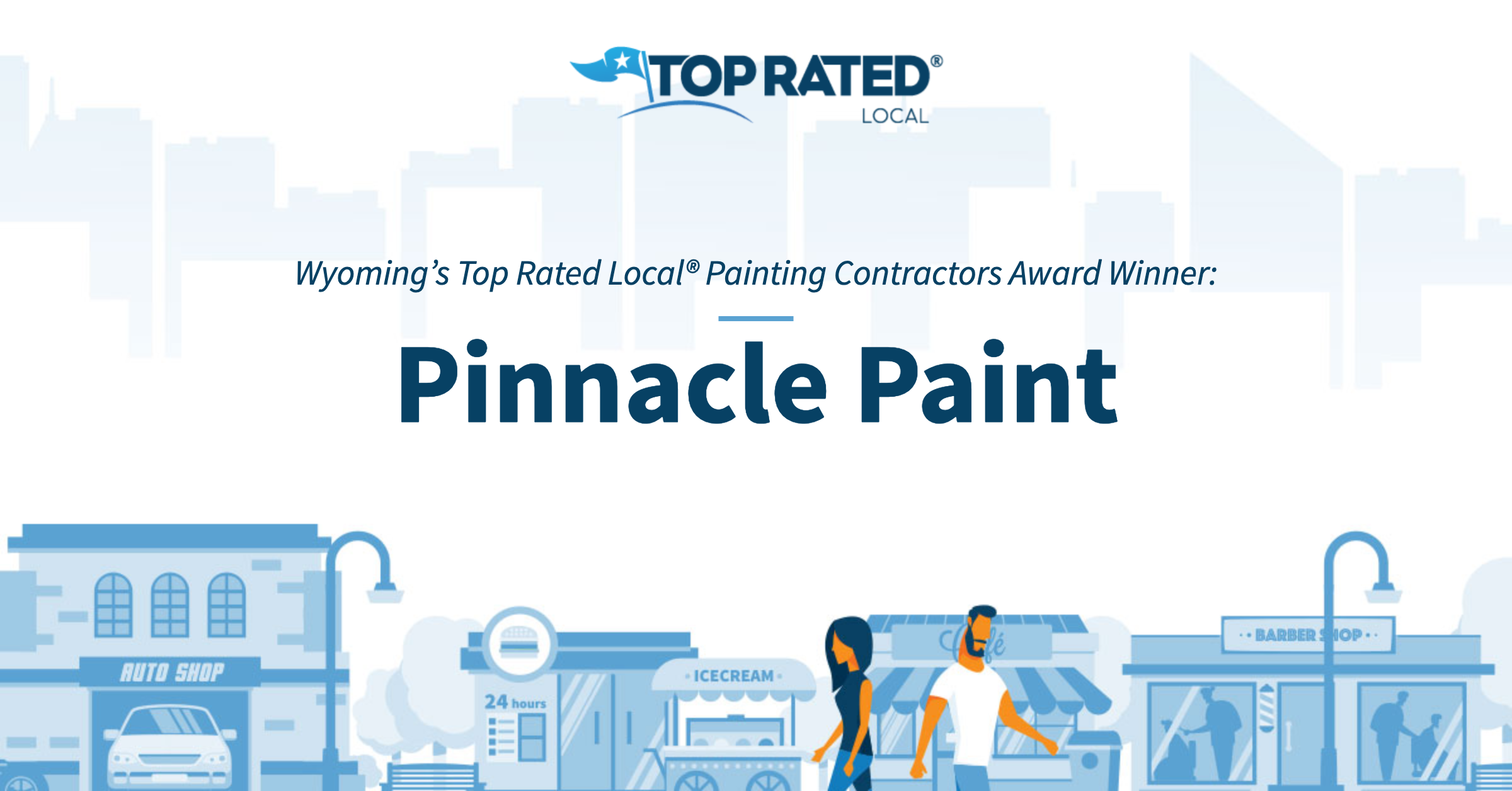 Wyoming's Top Rated Local® Painting Contractors Award Winner: Pinnacle Paint