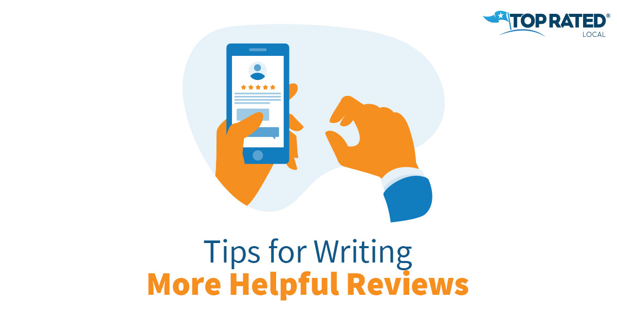 Tips for Writing More Helpful Reviews