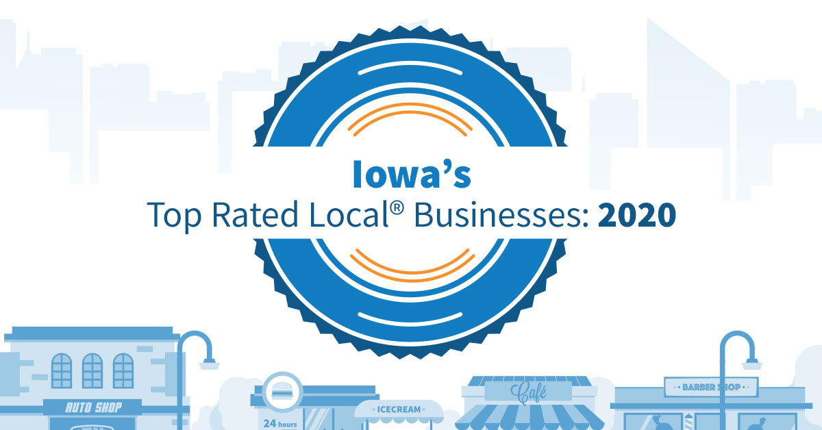 Iowa's Top Rated Local® Businesses: 2020