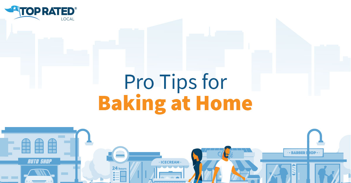 Pro Tips for Baking at Home