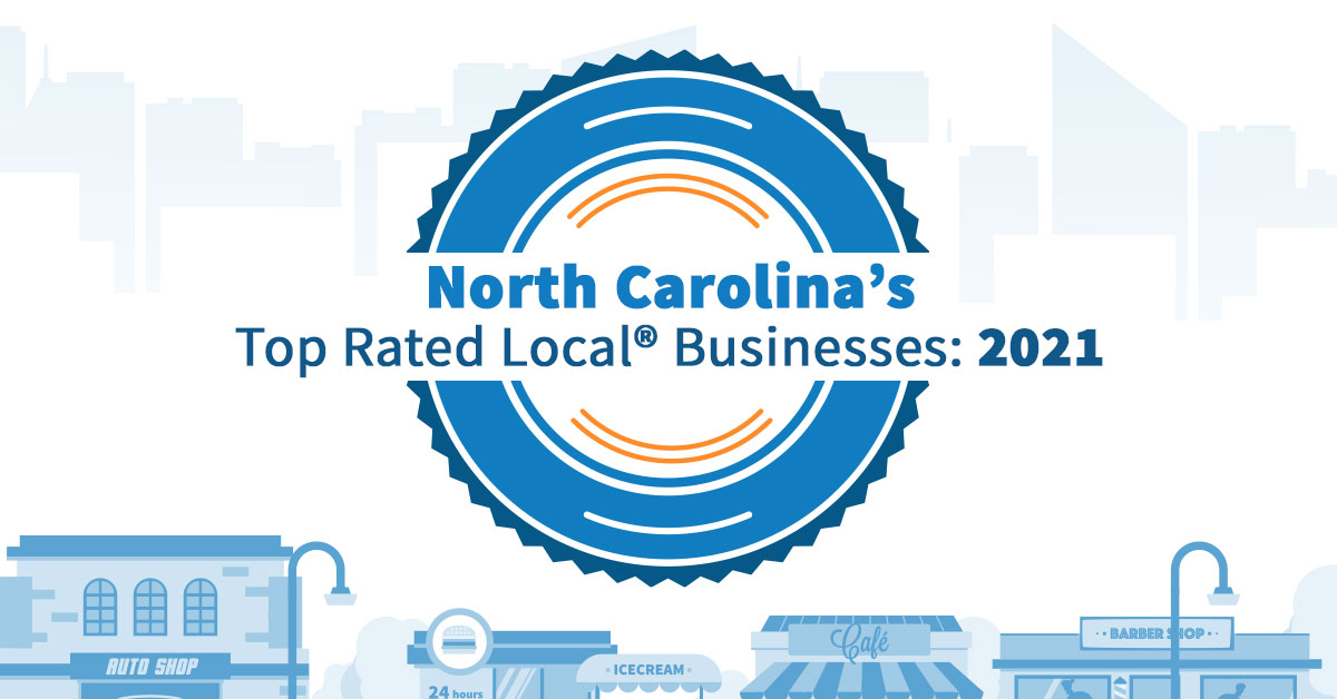 North Carolina's Top Rated Local® Businesses: 2021