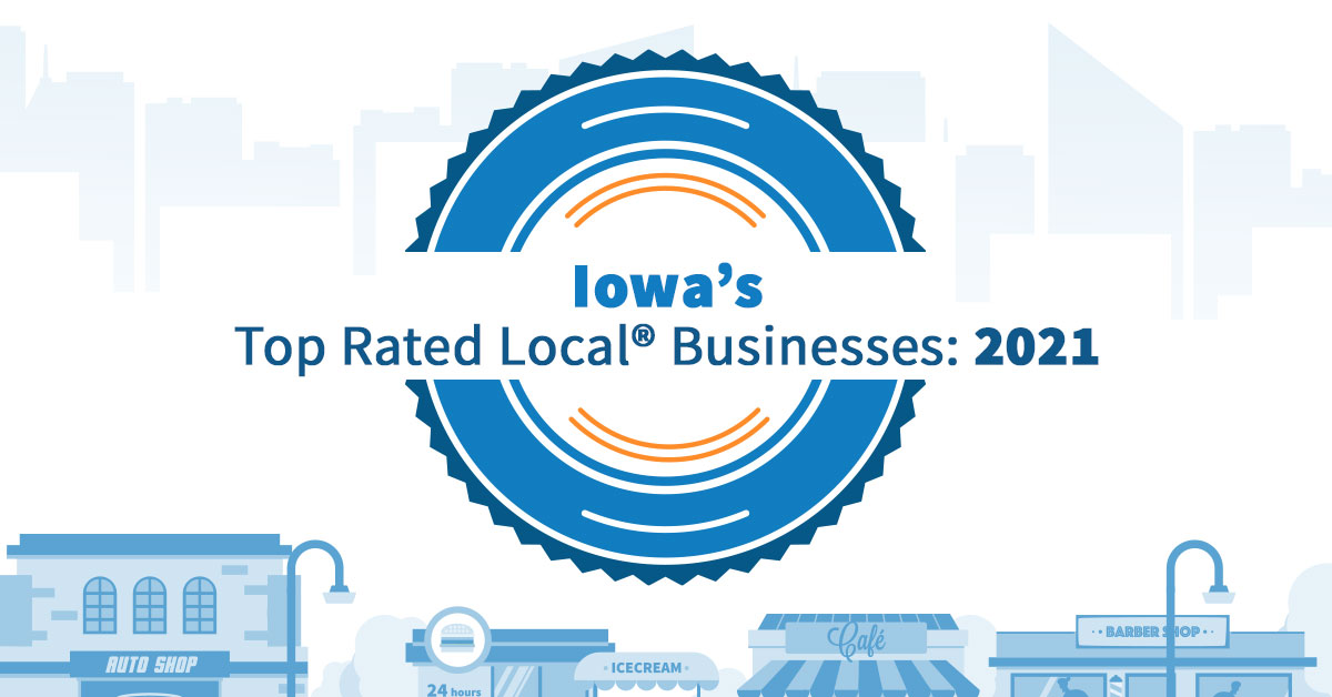 Iowa's Top Rated Local® Businesses: 2021