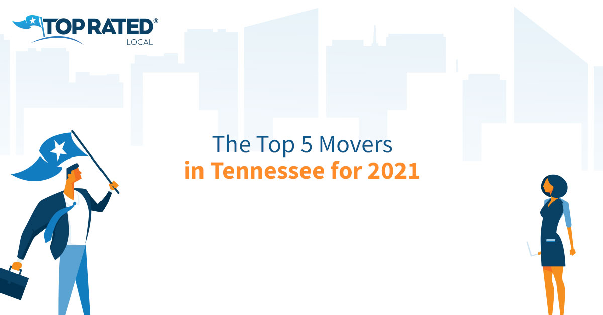The Top 5 Movers in Tennessee for 2021