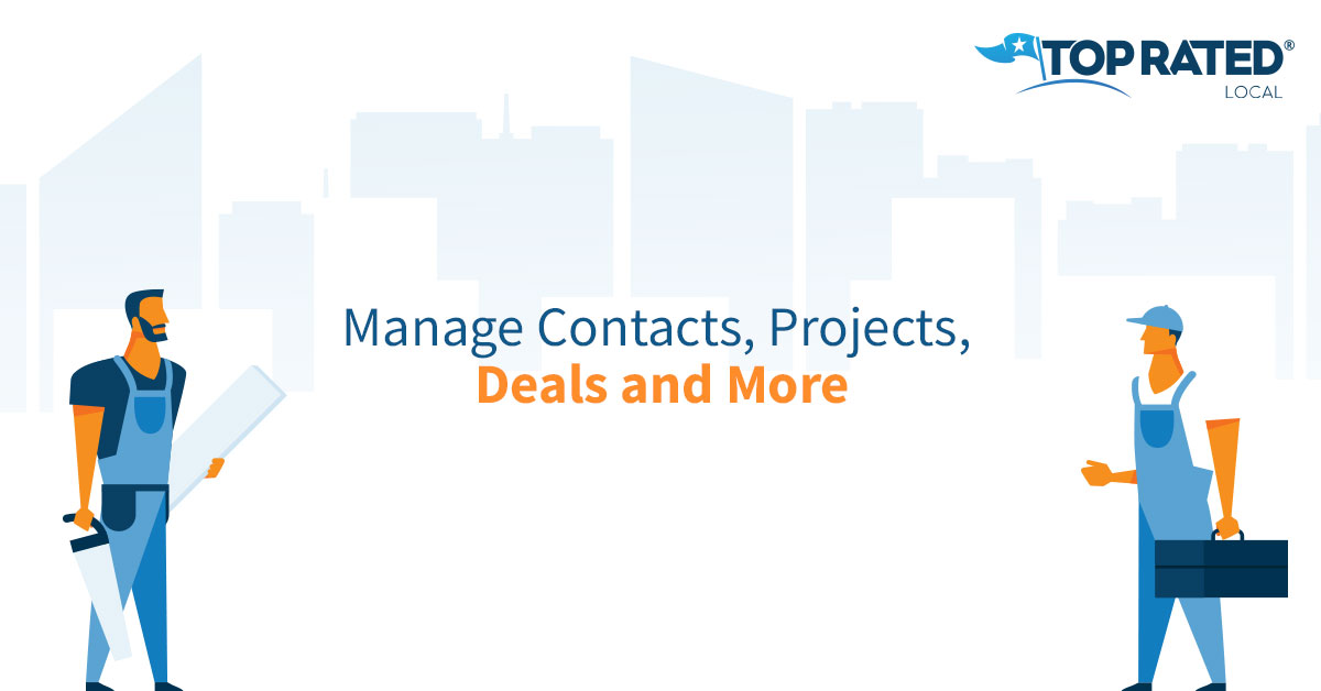 Manage Contacts, Projects, Deals and More