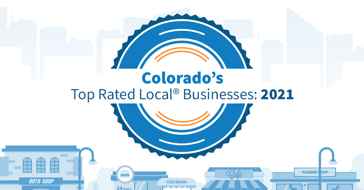 Colorado's Top Rated Local Businesses: 2021