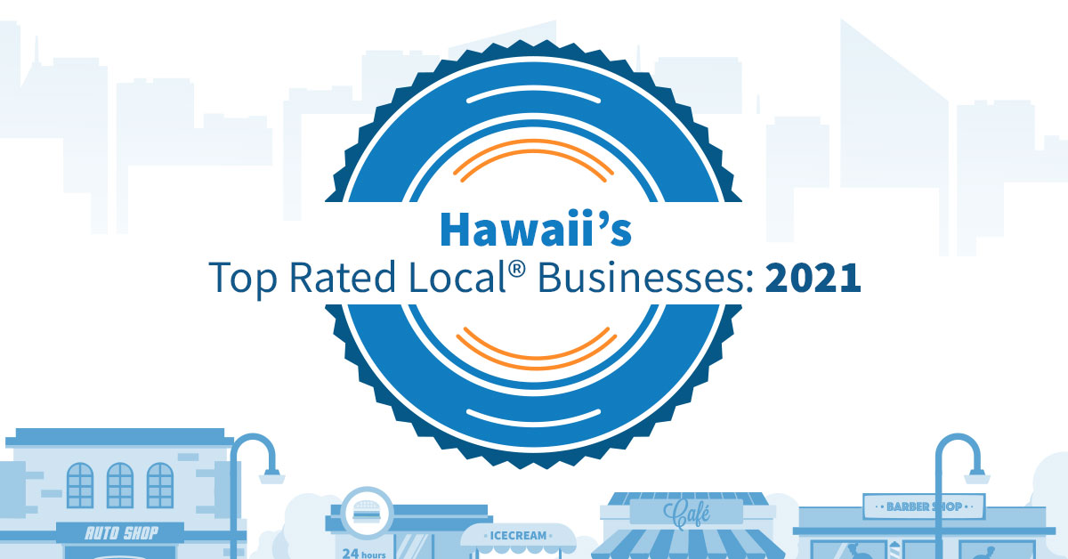 Hawaii's Top Rated Local Businesses: 2021